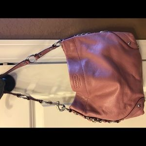 Coach leather Pink Carly